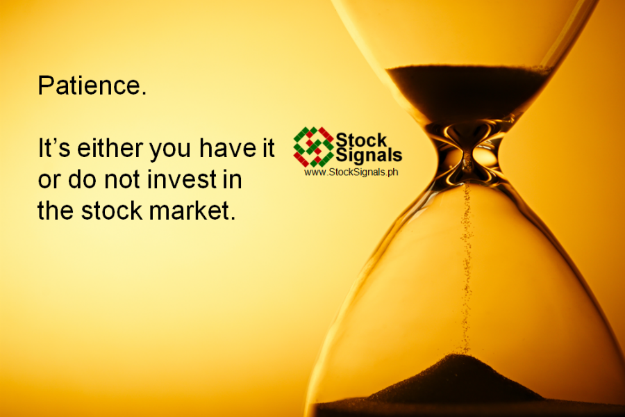 Image result for stock market patience